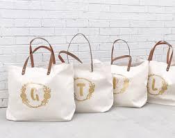 bridesmaid tote bags bridesmaid tote etsy