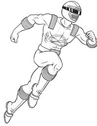 red wind power rangers coloring pages super heroes coloring