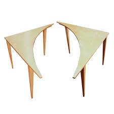mid century modern accent table mid century modern corner accent tables ebth