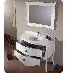 45 Bathroom Vanity 45 Fresca Platinum Glossy White Bathroom Vanity W