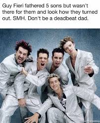 Guy Fieri Meme - dopl3r com memes guy fieri fathered 5 sons but wasnt there for