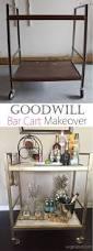 best 20 thrift store decorating ideas on pinterest thrift store goodwill bar cart makeover thrift store diy