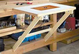 Diy Foldable Picnic Table by 39 Free Diy Router Table Plans U0026 Ideas That You Can Easily Build