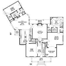 plantation style floor plans plantation style house plans 3079 square home 2 3
