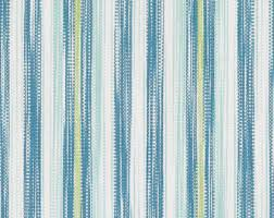 Striped Upholstery Fabric Turquoise Woven Stripe Upholstery Fabric Aqua Blue Wide Stripe