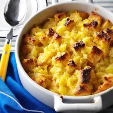 sides for ham scalloped pineapple casserole recipe taste of home