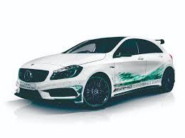 green mercedes benz mercedes a 45 amg petronas green edition benzinsider com a