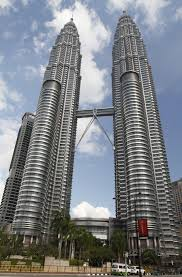 the petronas towers also known as the petronas twin towers malay
