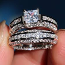 aliexpress buy anniversary 18k white gold filled 4 online get cheap mens engagement rings aliexpress alibaba