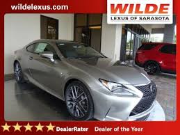 lexus of sarasota 2017 lexus rc rc turbo f sport rwd 2dr car in sarasota