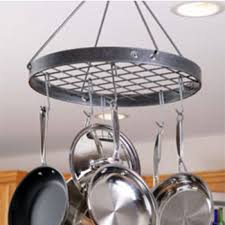 Kitchen Hanging Pot Rack by Pot Racks At Kitchen Accessories Unlimited