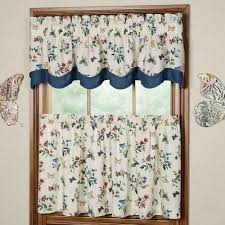 Butterfly Lace Curtains Kitchen Curtains U0026 Window Treatments Touch Of Class