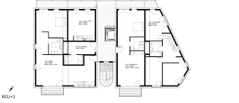 cohousing floor plans gallery of co housing project karawitz architecture 4