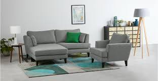grey tweed sofa orlando corner sofa ash grey tweed made com