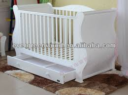 Sleigh Cot Bed Birch Sleigh Cot Buy Solid Wood Baby Sleigh Cot Baby Crib Wooden