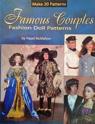 historical pattern review famous couples fashion doll patterns yesterday s thimble