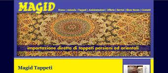 tappeti web tappeti realizzazione sito web negozio tappeti