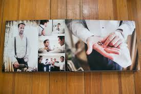 Flush Mount Wedding Album Boston Flush Mount Wedding Album Designer Zev Fisher Creates