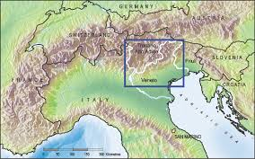 Dolomites Italy Map by Italy Field Guide 2014 Geoscience Research Institute