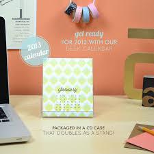 Desk Calendar With Stand 2013 Desk Calendar Now In The Shop U2013 Avie Designs
