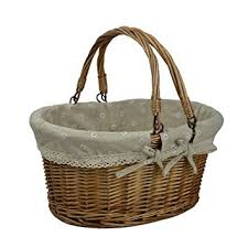 vintage picnic basket rurality vintage wicker picnic basket with