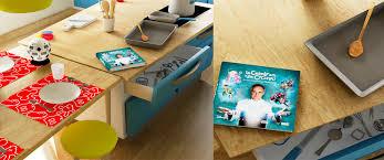 cuisine virtuelle réalité augmentée pour cuisiner en famille avec les personnages disney