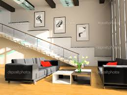 design drawing room down ceiling stair in a drawing room u2014 stock