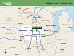 Iowa Illinois Map Maps Cedar Valley Regional Partnership