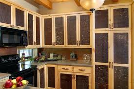 Mexican Kitchen Cabinets Rustic Kitchen With Unfinished Pine Cabinets Rustic Knotty Pine