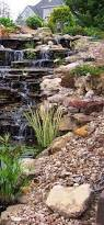 Backyard Water Falls by Backyard Waterfall Beautiful Waterfalls Landscaping And Backyard