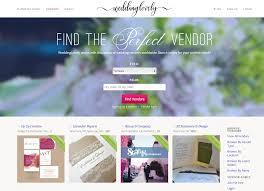 wedding vendor websites weddinglovely puts thousands of wedding vendor listings one
