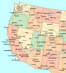 detailed map of the us map usa west major tourist attractions maps