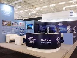 exhibition stand design for fia at paris airshow by ouno creative