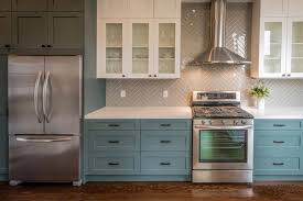 what color appliances with blue cabinets 5 kitchen cabinet colors that are big in 2019 3 that aren