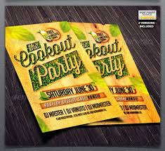 14 cookout flyer templates psd vector eps download