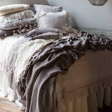 Piubelle Bedding Bella Notte Duvet Cover Whisper Linen