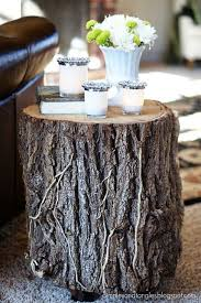 best 25 tree stump side table ideas on tree stump