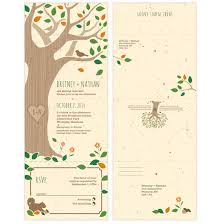 seal and send invitations rustic tree seal and send invitation seal and send wedding