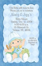 8 best precious moments baby shower invitations and party supplies