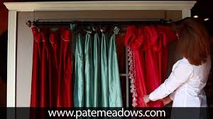 curtain panel sewing patterns youtube