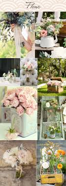 mariage vintage mariage vintage tableau d inspiration fleurs fleurs couleurs