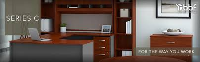 Commercial Desk Amazon Com Series C Collection 60w X 43d Right Hand L Bow Desk