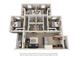 floor plans 21 oaks student apartments near the usc campus 4 bed 2 bath
