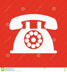 the phone icon telephone and support hotline helpdesk symbol