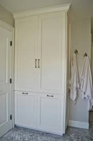 Bathroom Storage Cabinet Linen Cabinets For Bathroom Foter
