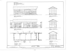 architectural floor plans and elevations file stable no 1 elevations floor plan and section dudley