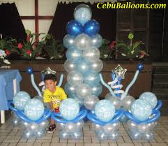 christening balloons and decorations party favors ideas