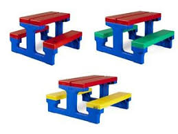childrens bench and table set kids bench children s table set outdoor indoor plastic garden home