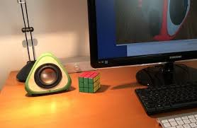 Small Desk Speakers 3ders Org Stylish 3d Printed T3tra Speakers Now On Kickstarter