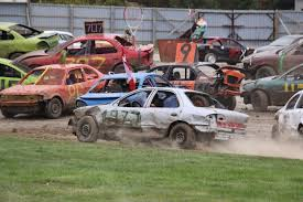 Racing Green Flag Record Number Of Cars At Brighton Speedway U0027s Lange U0026 Fetter Ford